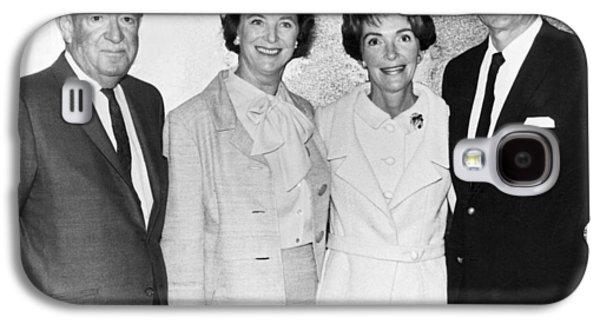 Ronald And Nancy Reagan Galaxy S4 Case