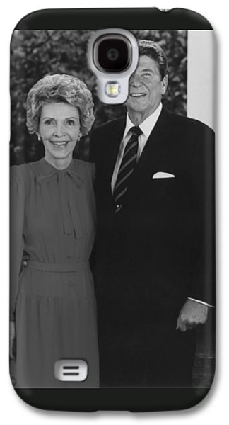 Ronald And Nancy Reagan Galaxy S4 Case by War Is Hell Store