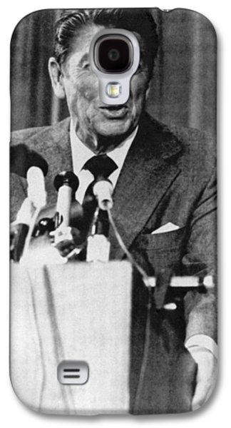 Ronald Reagan Michigan Primary Galaxy S4 Case by Underwood Archives