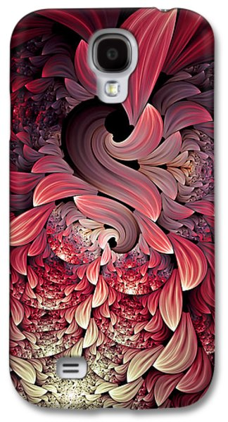 Rooster Abstract Galaxy S4 Case by Georgiana Romanovna