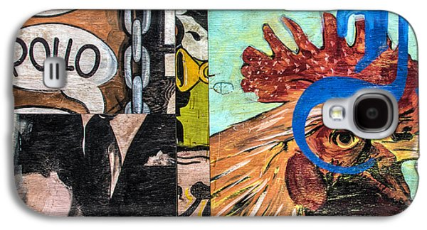 Rooster Graffiti Galaxy S4 Case