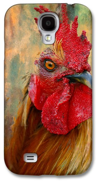 Rooster On The Loose - Abstract Realism Galaxy S4 Case