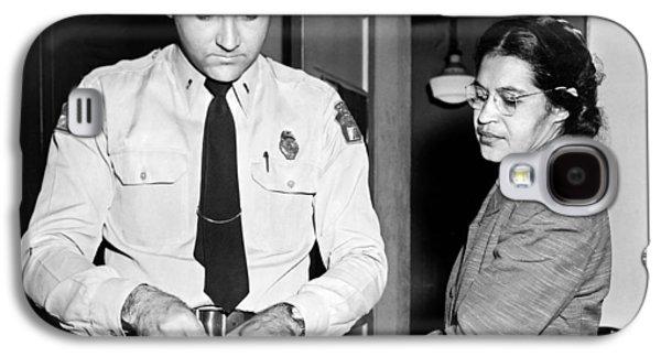 Rosa Parks Gets Fingerprinted Galaxy S4 Case