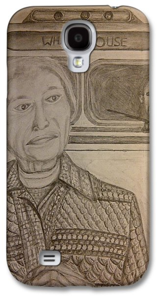 Rosa Parks Imagined Progress Galaxy S4 Case by Irving Starr