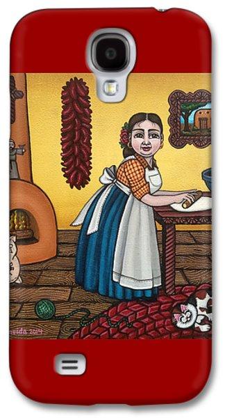 Rosas Kitchen Galaxy S4 Case by Victoria De Almeida