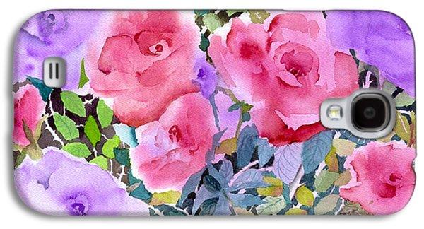 Rose Garden Galaxy S4 Case by Neela Pushparaj