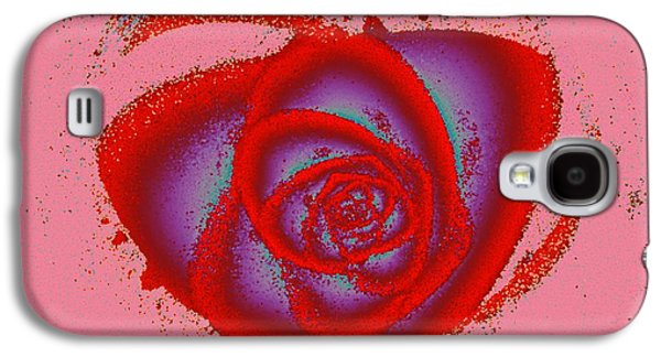 Rose Heart Galaxy S4 Case