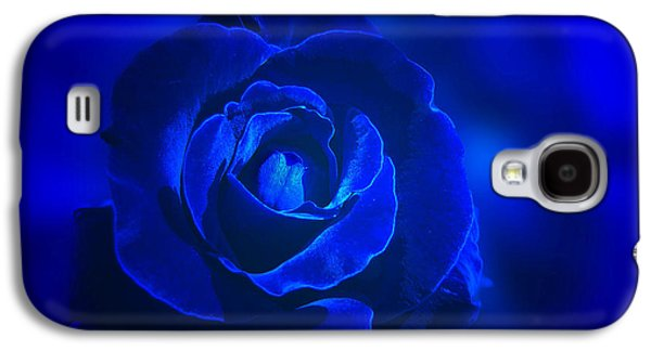 Rose In Blue Galaxy S4 Case
