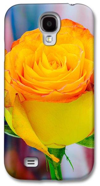 Yellow Rose Macro Galaxy S4 Case