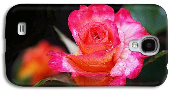 Rose Mardi Gras Galaxy S4 Case by Rona Black