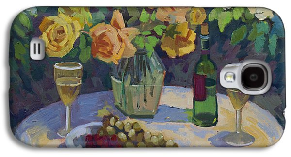 Roses And Chardonnay Galaxy S4 Case