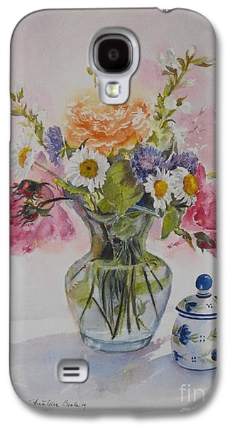 Roses And Daisies Galaxy S4 Case by Beatrice Cloake