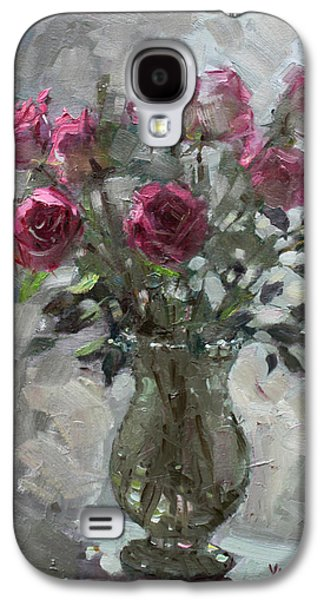 Roses For Viola Galaxy S4 Case