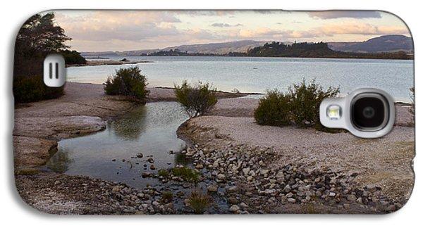 Rotorua At Dusk Galaxy S4 Case by Venetia Featherstone-Witty