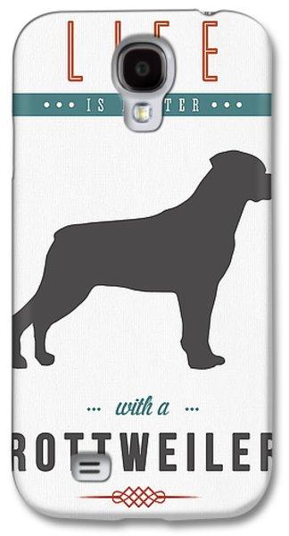 Rottweiler 01 Galaxy S4 Case