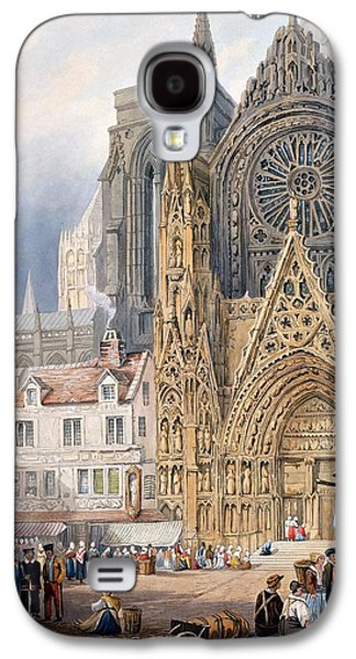 Rouen Cathedral Galaxy S4 Case by Samuel Prout