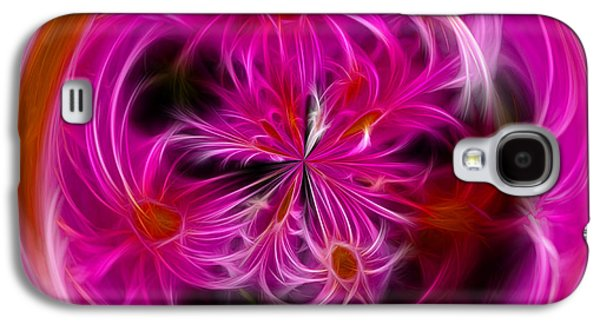 Round Pink And Pretty By Kaye Menner Galaxy S4 Case
