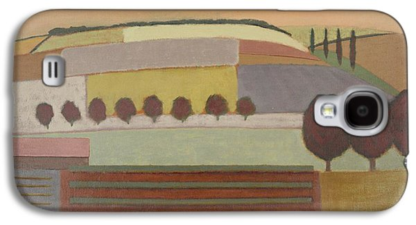 Roussillon Landscape Oil On Canvas Galaxy S4 Case by Eric Hains