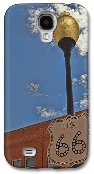 Route 66 Light Post Galaxy S4 Case
