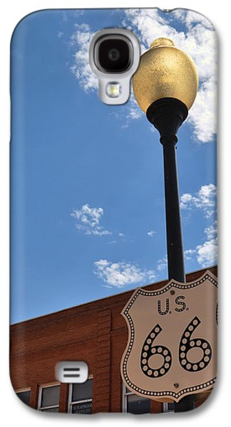 Route 66 Light Post Vivid Galaxy S4 Case