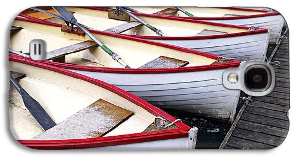 Boat Galaxy S4 Case - Rowboats by Elena Elisseeva