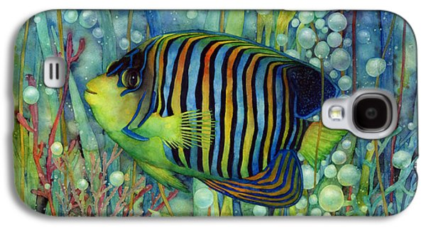 Royal Angelfish Galaxy S4 Case by Hailey E Herrera