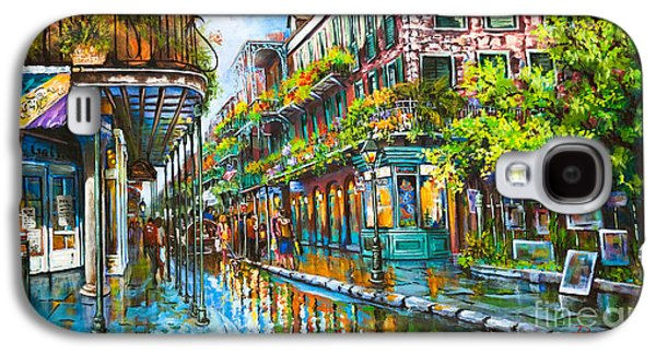 Royal At Pere Antoine Alley, New Orleans French Quarter Galaxy S4 Case by Dianne Parks
