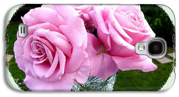 Royal Kate Roses Galaxy S4 Case by Will Borden