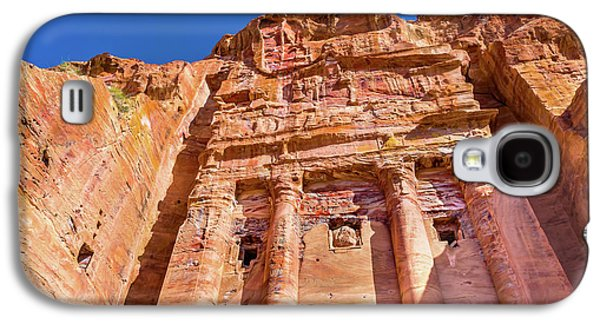 Royal Rock Tomb Arch Petra Jordan Galaxy S4 Case