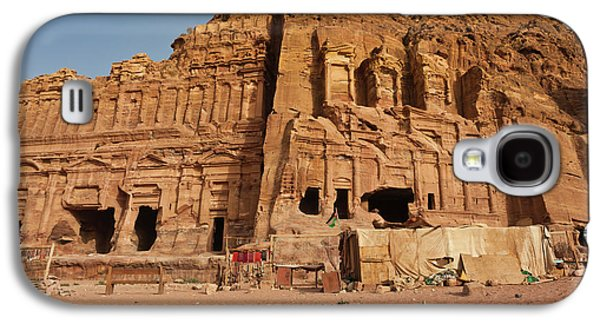 Royal Tombs At Ancient Nabatean City Galaxy S4 Case
