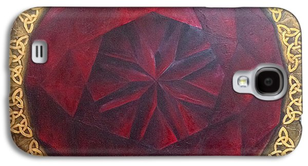 Galaxy S4 Case featuring the painting . by James Lanigan Thompson MFA