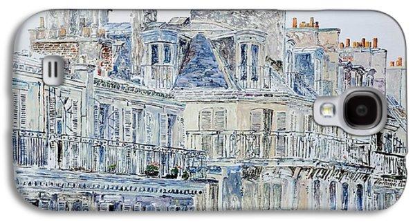 Rue Du Rivoli Paris Galaxy S4 Case by Anthony Butera