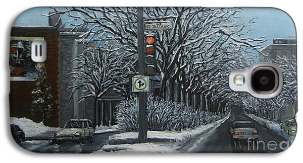 Rue St Jacques Galaxy S4 Case by Reb Frost