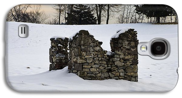 Ruin At Philadelphia Cricket Club In Winter Galaxy S4 Case by Bill Cannon