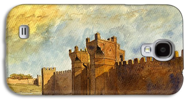 Ruins Morocco Galaxy S4 Case by Juan  Bosco