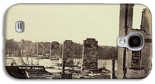 Ruins Of A Railroad Bridge Galaxy S4 Case by British Library
