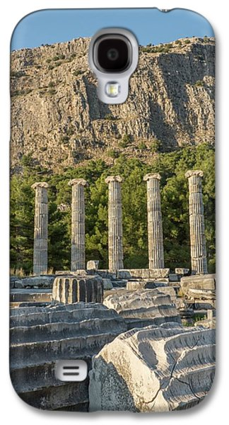 Ruins Of The Temple Of Athene Galaxy S4 Case by David Parker