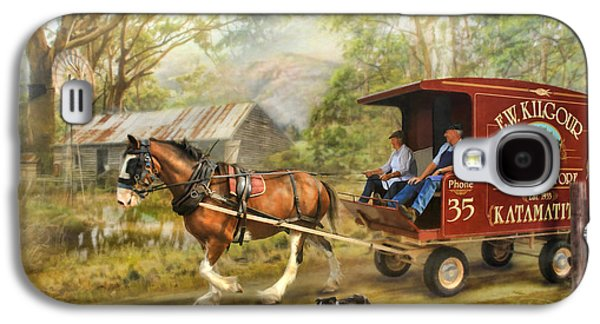 Rural Deliveries Galaxy S4 Case by Trudi Simmonds