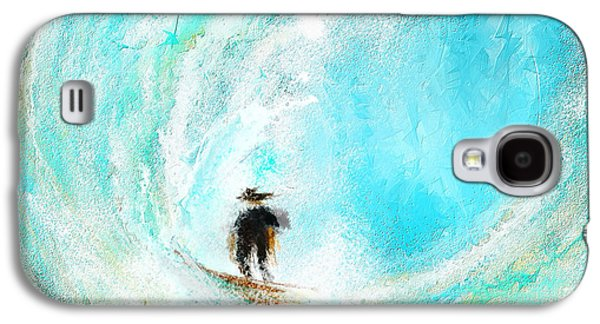 Rushing Beauty- Surfing Art Galaxy S4 Case