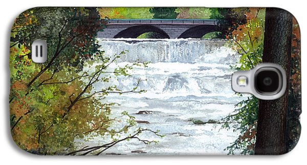 Rushing Water - Quiet Thoughts Galaxy S4 Case by Barbara Jewell