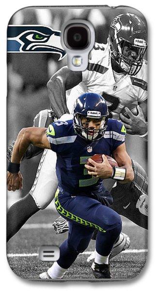 Russell Wilson Seahawks Galaxy S4 Case