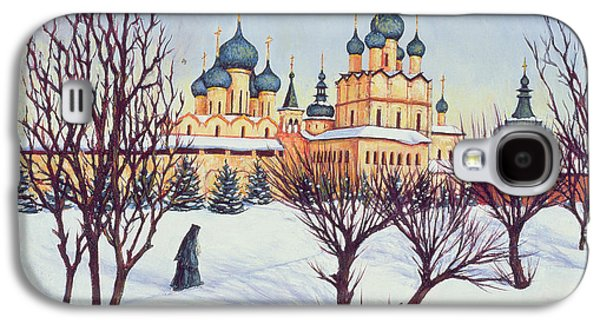 Russian Winter Galaxy S4 Case by Tilly Willis