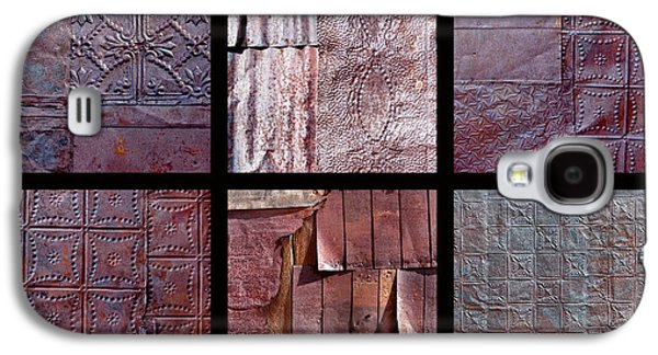Rusted Tin Galaxy S4 Case by Art Block Collections