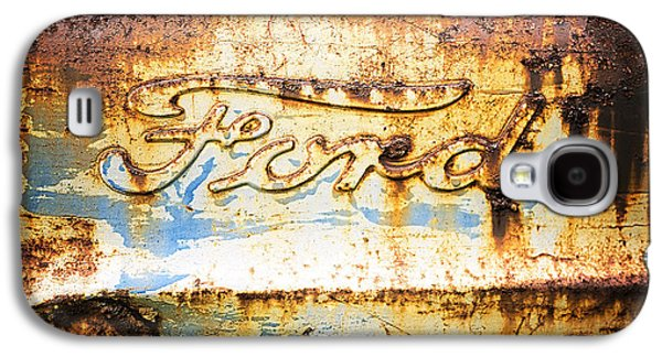 Rusty Old Ford Closeup Galaxy S4 Case