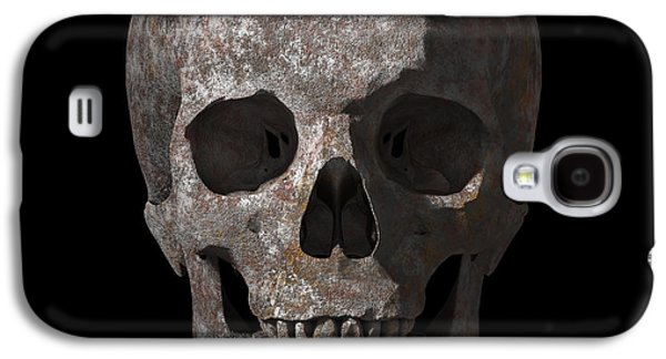 Rusty Old Skull Galaxy S4 Case by Vitaliy Gladkiy