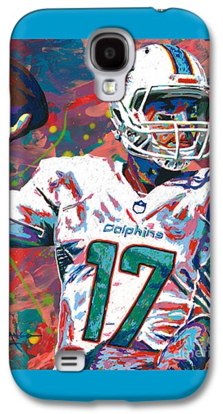 Ryan Tannehill Galaxy S4 Case by Maria Arango