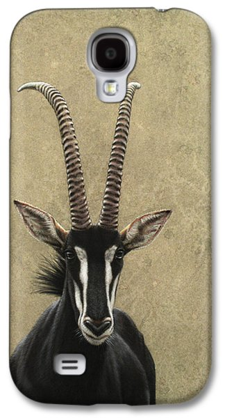 Animals Galaxy S4 Case - Sable by James W Johnson