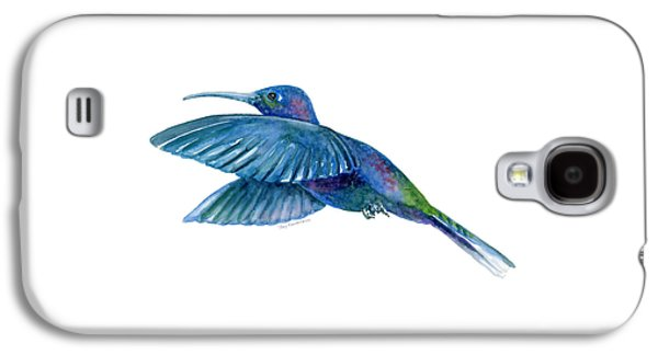 Sabrewing Hummingbird Galaxy S4 Case by Amy Kirkpatrick