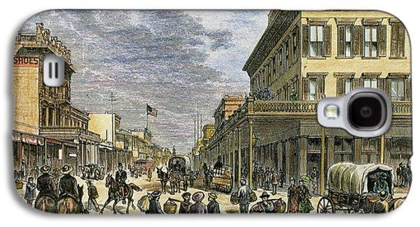 Sacramento In 1878 Galaxy S4 Case by Prisma Archivo