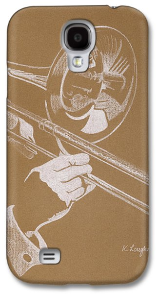 Trombone Galaxy S4 Case - Sacred Trombone by Karen  Loughridge KLArt